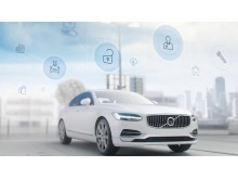 Volvo S90 exterior with a range of concierge services