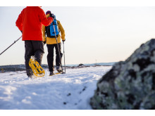 Snow shoeing in Jämtland Härjedalen