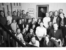 Gruppbild medarbetare julen 2015