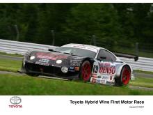 Toyota Supra HV-R med bensin/el-hybriddrift