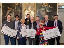 Vereinigung Lübecker Schiffsmakler und Schiffsagenten - Spendenübergabe 2019-03-27