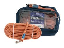 PolyRopes PROline - grå/orange i väska