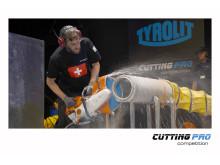 TYROLIT Cutting Pro Competition Jonas Kovacs tävlande för Schweiz