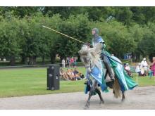 Sommarens höjdpunkt är Tornerspelen i samarbete med Nordic Knight