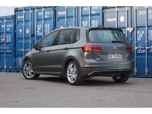 Faceliftet Golf Sportsvan