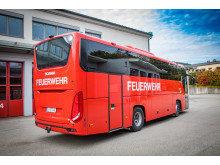 Scania Bus für logistische und taktische Einsätze der Feuerwehr