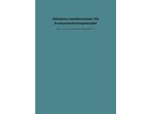 Ny skrift om bestämmelser vid konsumententreprenader