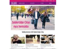 Södertälje Citys nya hemsida