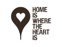 Home is where the heart is - logo