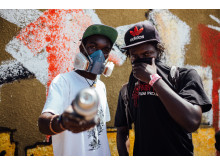 WE LOVE YOUGANDA: Jobray Writer & The Ghetto Film Project from Uganda during a Water ART Sanitation workshop