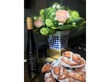 Crêpes Dures_NYA dessertvinet Brochet Quarts de Chaume_Vas franska Bernardaud