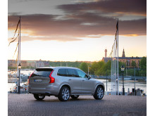 Volvo XC90 at the Swedish Royal Wedding