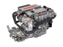 Hi-res image - YANMAR - YANMAR 4LV Series of common rail engines (right side back)