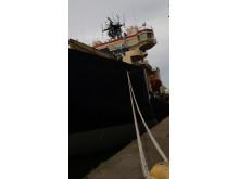 Isbrytaren Oden som ska användas för polarexpeditionen SWERUS-C3