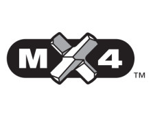 MX4 SDS-PLUS 4-SKÄRSBORR – LOGOTYP
