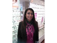 Linda från Västerås hjälper fattiga i Peru att se bättre