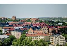 Solna stad - vy över Råsunda