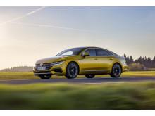 Volkswagen Arteon får högsta betyg – 5 stjärnor – i Euro NCAP.