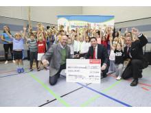 Spendenübergabe Santander Select Bergisch Gladbach