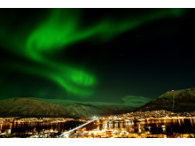 Die Aussicht auf das Phänomen Nordlicht zieht im Winter viele Besucher vor allem nach Norwegen.