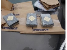 Image of recovered drugs