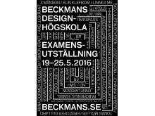 Beckmans examensutställning 2016
