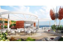 Celebrity Edge, Roof Top Garden