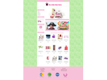 The Litte Kids Store - Designpaket Layout
