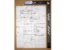 Ciaran Maxwell sentencing: Handwritten note (2)