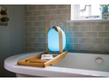Trådlös högtalare och lampa, mini - bad