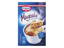 Mugcake chocolate flakes