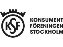 Logotyp svart, liggande, Konsumentföreningen Stockholm
