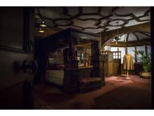 Det kungliga gästrummet med inredning av Liberty.