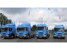 Danske Fragtmænd får leveret de første Scania