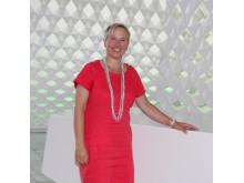 Marianne Selle, Digital Transformation Officer i Sopra Steria Skandinavia og leder av den norske innovasjonshuben Sopra Steria NEXT, på Power of Sharing - The Next Digital konferansen i regi av Sopra Steria.