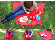 Yield picnic tæppe
