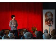 Mona Sahlin invigningstalar på Astrid Lindgrens Näs