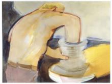 Olli Lyytikäinen, Form och innehåll I / Form and Content I, 1977. Akvarell / Watercolour