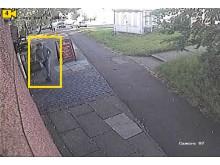 CCTV - Entering Pub