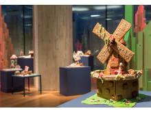 De tre bakende Bruse. Pepperkakekonkurranse og -utstilling 2017