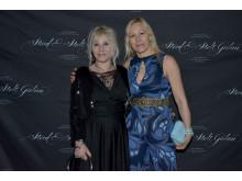 Petra Matha och Lou Rehnlund från Funki models