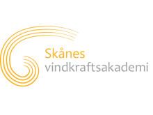 Logotyp Skånes vindkraftsakademi