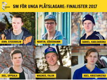 Finalister, SM för unga plåtslagare 2017