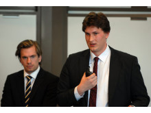 Mikael Andersson och Robert Lyngman, SolarCool