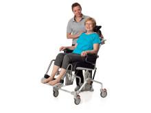 Swift Mobil duschstol med komfortdynor