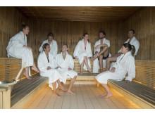 Clarion Hotel Sign - Selma City Spa - Sauna
