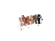 KICKS Beauty Eyeshadow Palette Basic Swatch