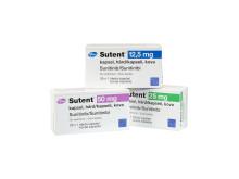 Sutent 12.5 mg, 25 mg och 50 mg