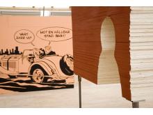 Trä utställning i Skellefteå