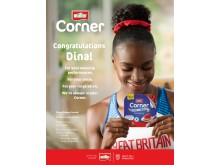 Brand ambassador Dina Asher-Smith
